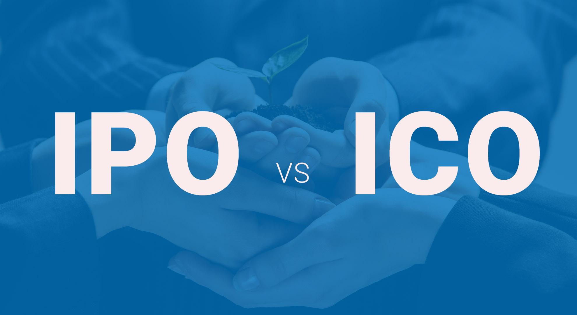 تفاوت ICO و IPO